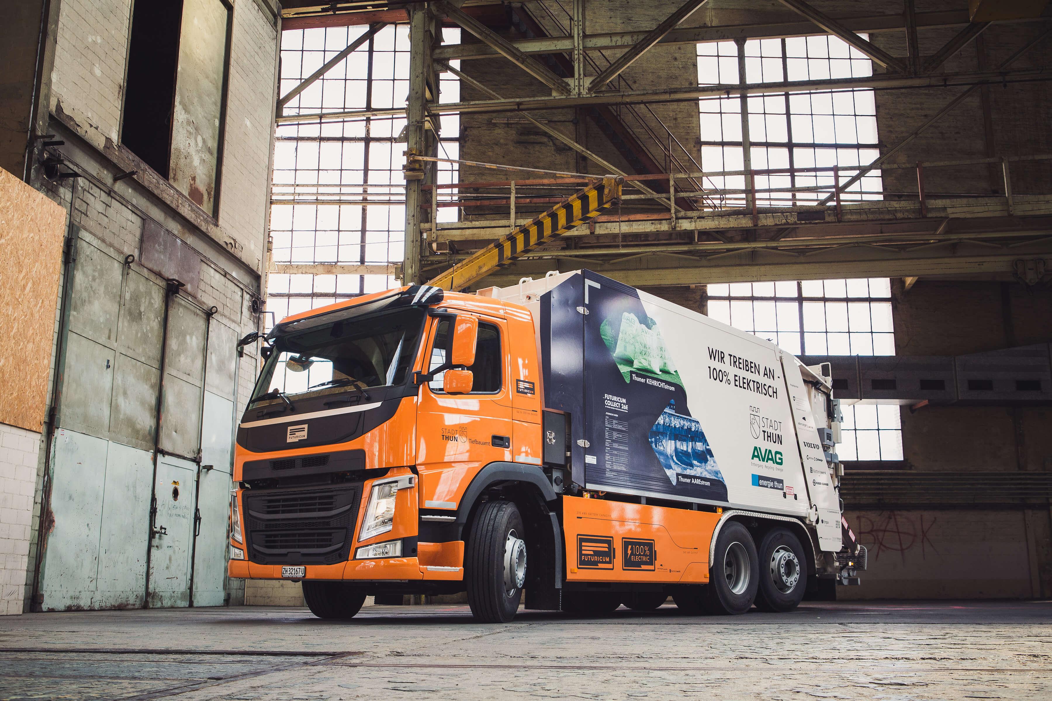 swissplast fertigt Bauteile für elektrische LKW