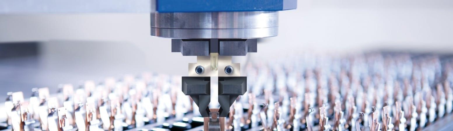 Präzisionsmaschine bearbeitet Metallteile