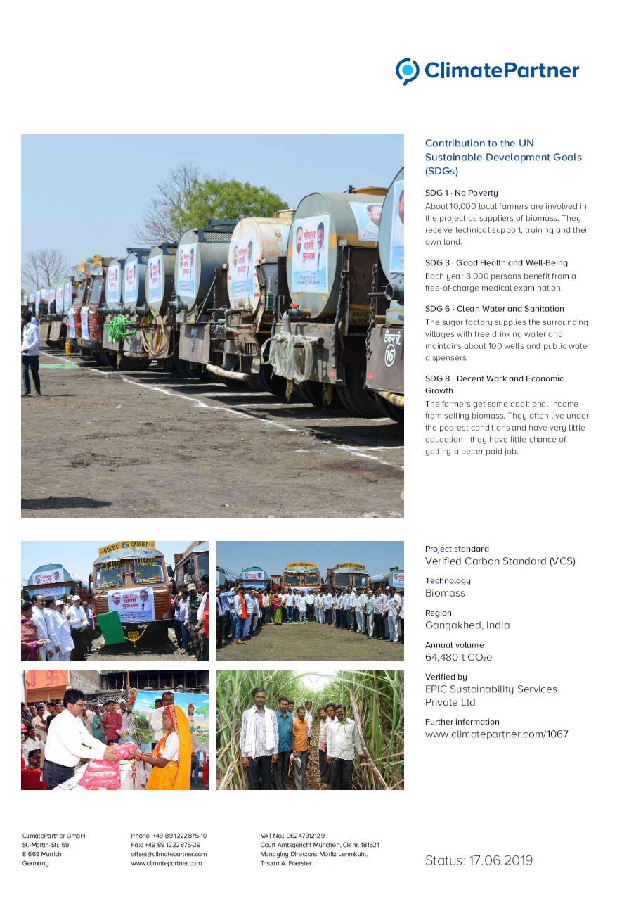 swissplast GmbH supports sustainable development goals in India