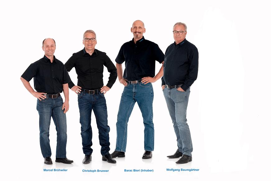 4 Personen aus dem Verwaltungsrat von swissplast